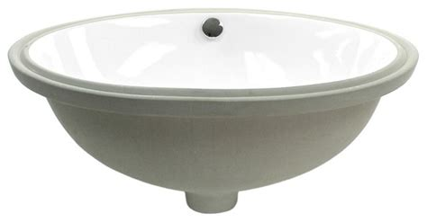 Caracalla Oval-shaped Ceramic Undermount Sink