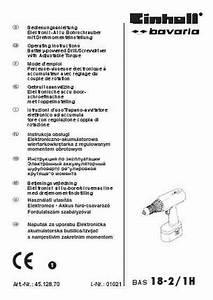 Einhell Bas 18 2 Tools Download Manual For Free Now