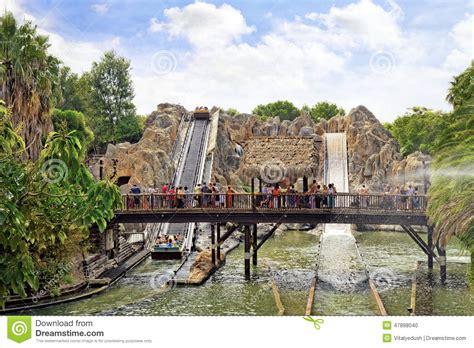 parc d attractions en espagne pr 232 s de salou port aventura image 233 ditorial image 47898040