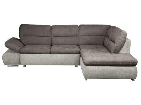 confo canapé canapé d 39 angle convertible droit 4 places en tissu