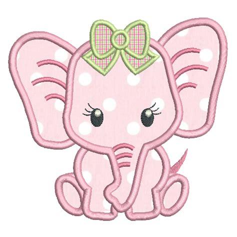 elephant hoop baby elephant applique machine embroidery rosieday
