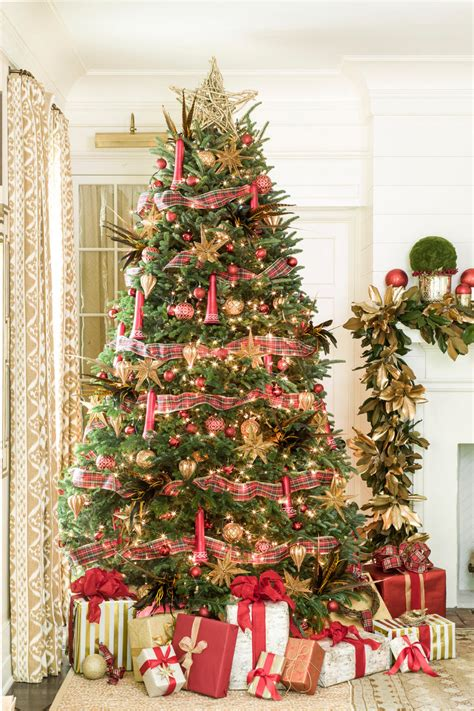 ribbon on christmas tree pictures new ideas for tree garland southern living