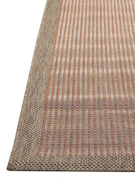 teppich fur draussen outdoor teppich für terrasse balkon rot braun essentials