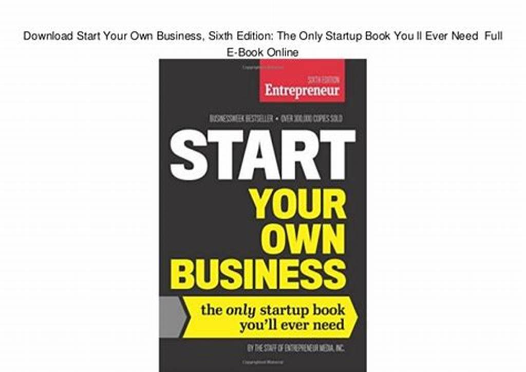 #Download #Start #Your #Own #Business #Sixth #Edition: #The #Only