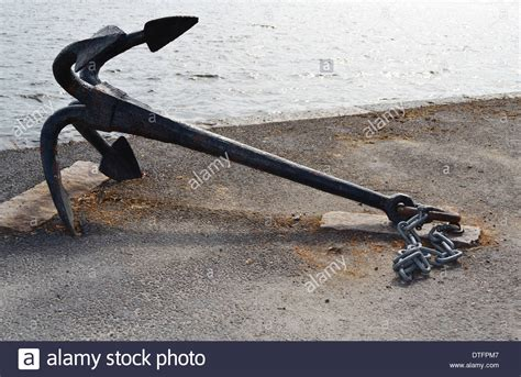 Anchor On A Boat by Boat Anchor Stock Photo Royalty Free Image