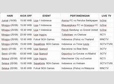 Siaran Langsung TV Liga 1, Liga Inggris, La Liga, SEA