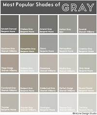 shades of grey color Most Popular Shades of Gray • My most recent project! #gray #paint #grazy | Dream Home ...