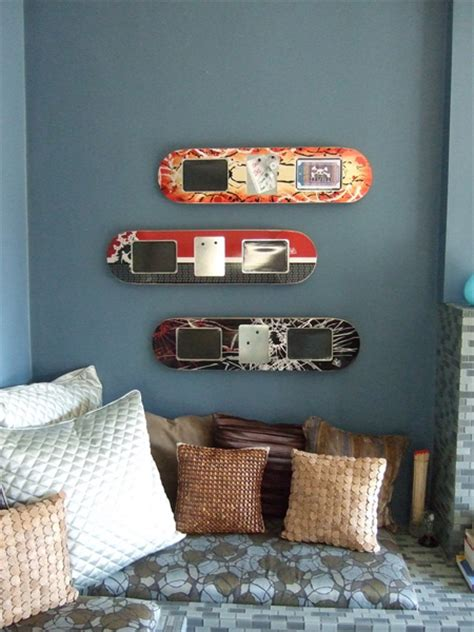 diy awesome skateboard crafts