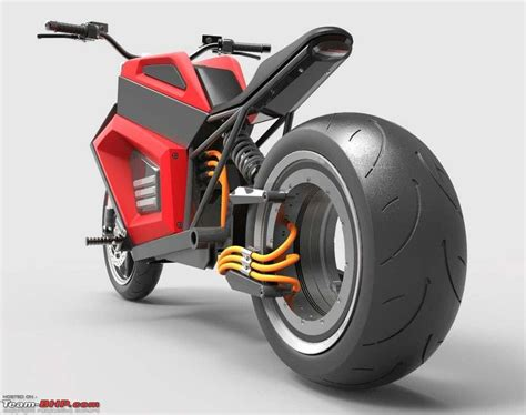 Electric Motorcycle Motor by Hubless 100 Mph Electric Motorcycle By Rmk Finland Team Bhp