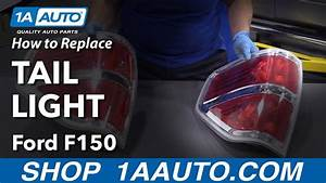 How To Replace Tail Light Assembly 09