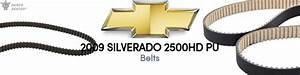 2009 Chevrolet Silverado 2500hd Belts