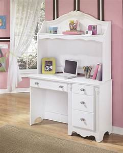 Furniture. White Bunk Bed With Desk For Girls. Stylish ...
