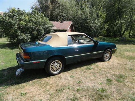 1995 Chrysler Lebaron Gtc Convertible sell used 1995 chrysler lebaron gtc convertible 2 door 3