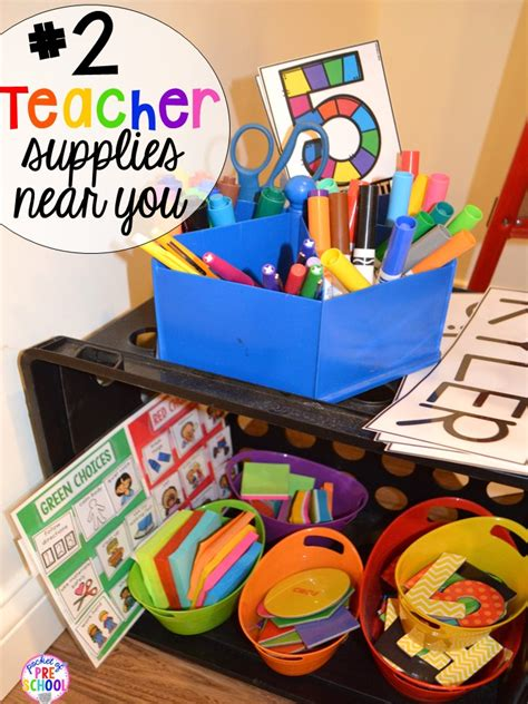 15 classroom organization hacks pocket of preschool 985 | Slide2 1