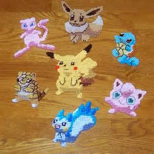 Pokemon Plastic Canvas Pattern