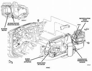 2005 Dodge Dakota Club Mode Actuator Replacement