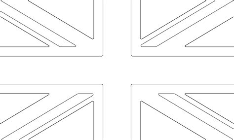 British Flag Coloring Page Home