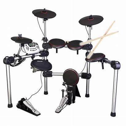 Drum Electric Kit Electronic Carlsbro Kits Cymbals