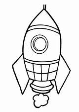 Pages Rocket Coloring Preschool Kindergarten Airplanes Rockets Airplane Preschoolcrafts Crafts sketch template