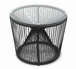 Table Basse Jardin Metal : table basse de jardin fil noir 55cm rio 85 salon d 39 t ~ Teatrodelosmanantiales.com Idées de Décoration