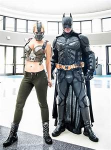 Superhero Week: Lady Bane and Batman cosplay