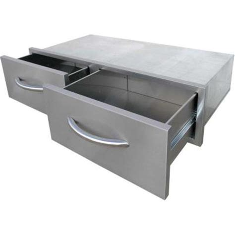 cal flame outdoor kitchen stainless cal flame outdoor kitchen stainless steel 2 drawer