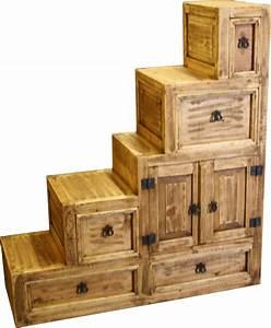 Escalera Left Dresser @ Durango Trail Rustic Furniture