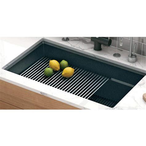 corner sink floor mat peak roller mat made of stainless steel by franke