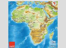 Physical 3D Map of Africa games Africa map, Africa, Map