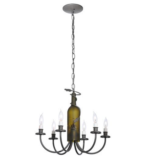 wine bottle chandelier for sale six light wine bottle chandelier for sale cottage bungalow