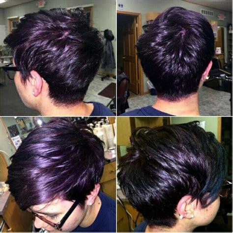 pixie cut hair color best 25 purple pixie cut ideas on hair