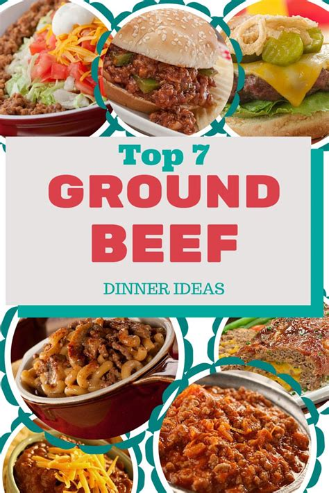 dinner with ground beef 13 best ground beef images on pinterest hamburger recipes kitchens and recipes