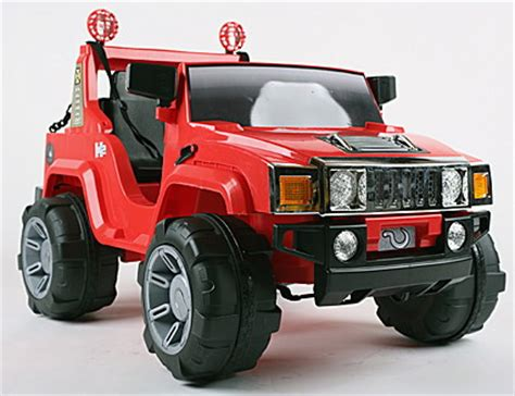 kids red jeep childs one seat red 6v hummer ride on jeep 159 99 buy