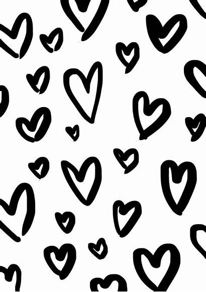 Wrapping Paper Printable Hearts Coloring Heart Pages