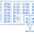 nissan note 1 6 tekna 2008 interior fuse box block circuit breaker diagram 187 carfusebox