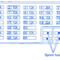 nissan note  tekna  interior fuse boxblock circuit breaker diagram carfusebox