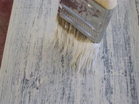 Dry Brushing Paintstain Technique  Faux Wood Workshop