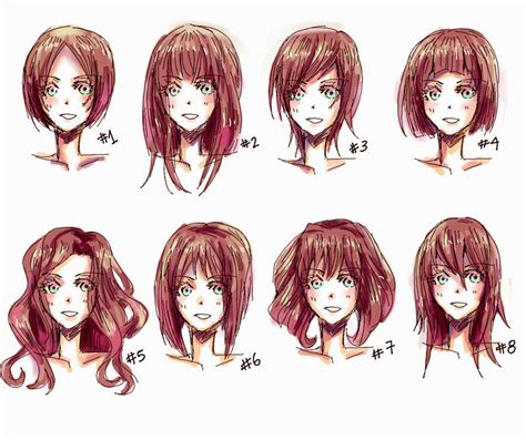 anime hair styles anime hairstyles real hairstyles ideas