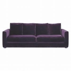 rupert purple velvet 3 seater sofa buy now at habitat uk With purple velvet sectional sofa