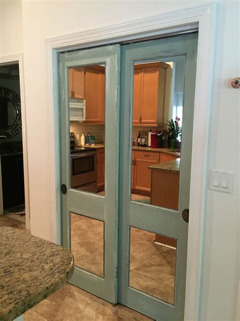 mirrored closet doors  glass shoppe  division