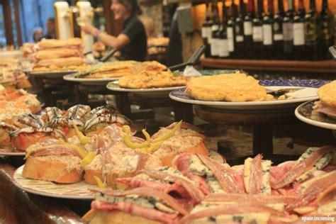 buffet cuisine pin typical pintxos en san sebastian with buffet cuisine en pin
