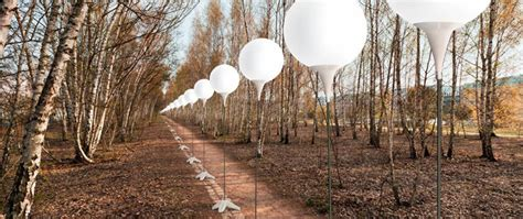 187 the lichtgrenze the border of lights installation by