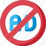 Ad Blocker Icon Icons Premium Flat