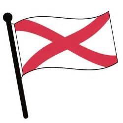 Alabama Flag Clip Art