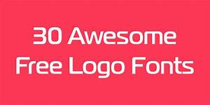 30 best free fonts for your logo | Logaster