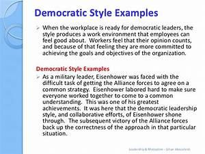 A Tease: democratic leadership - YouTube