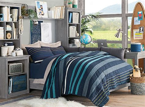 Laid Back Plaid Stuff Your Stuff Bedroom