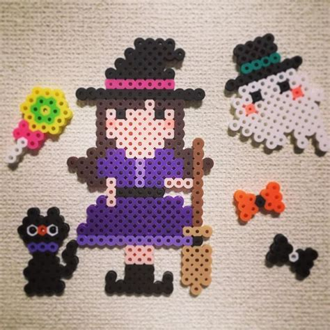 Halloween Perler Bead Projects by 593 Best Images About Perler Bead Halloween On Pinterest