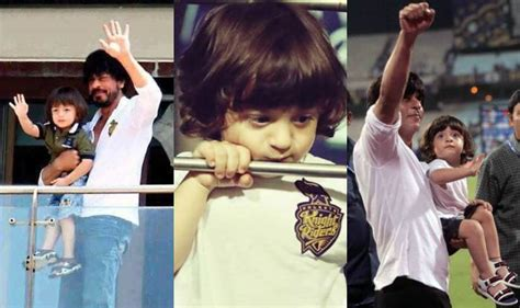 He is biological son of shahrukh khan and gauri khan! AbRam Khan Age, Photos, Date Of Birth & More » StarsUnfolded