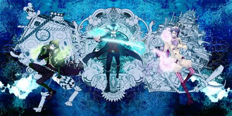 Blue Anime Wallpaper - blue exorcist wallpapers wallpaper cave